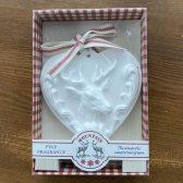 Pine Clay Heart
