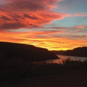 Sunrise Over Portree Bay