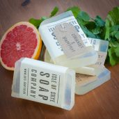 Coriander & Grapefruit Soap from our Skye Range