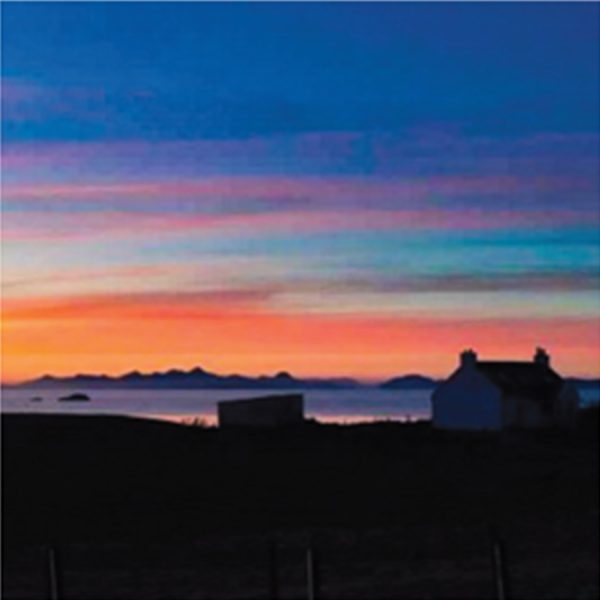 Cottage Sunset in Skye