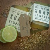 Elderflower & Lime Soap