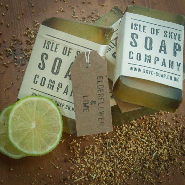 Elderflower & Lime Soap