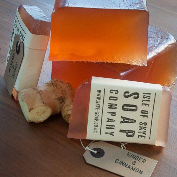 Ginger & Cinnamon Scrubby Soap