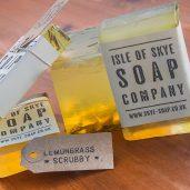Lemongras Scrubby Soap