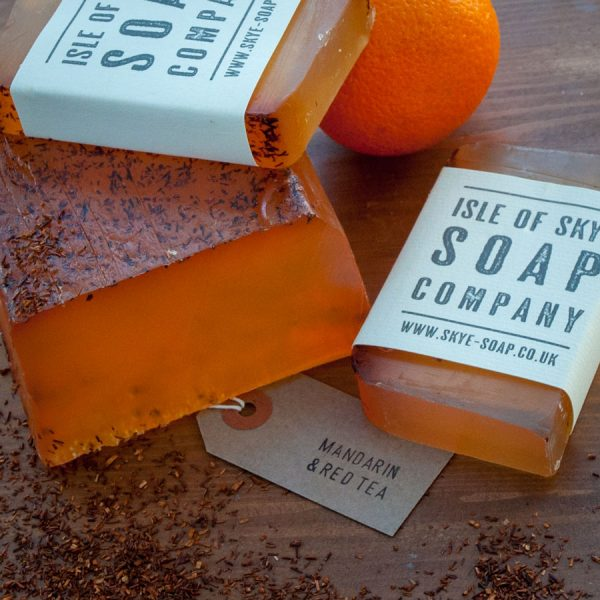 Mandarin & Red Tea Soap