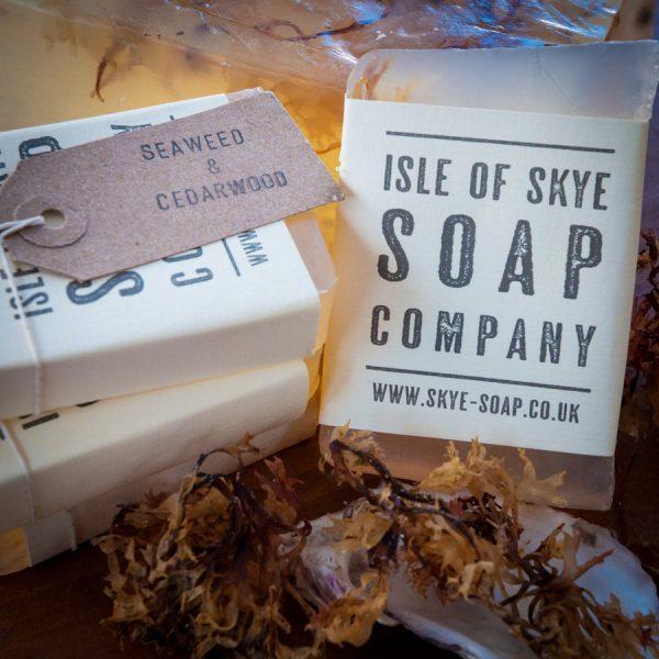 Seaweed & Cedarwood Scrubby Soap