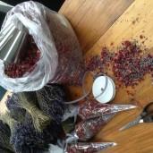 Rose and Lavender pot pouri