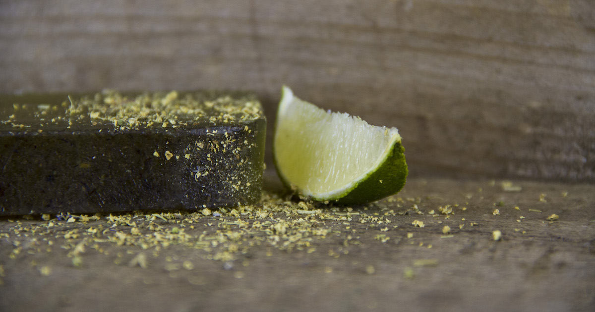 skye soap lime