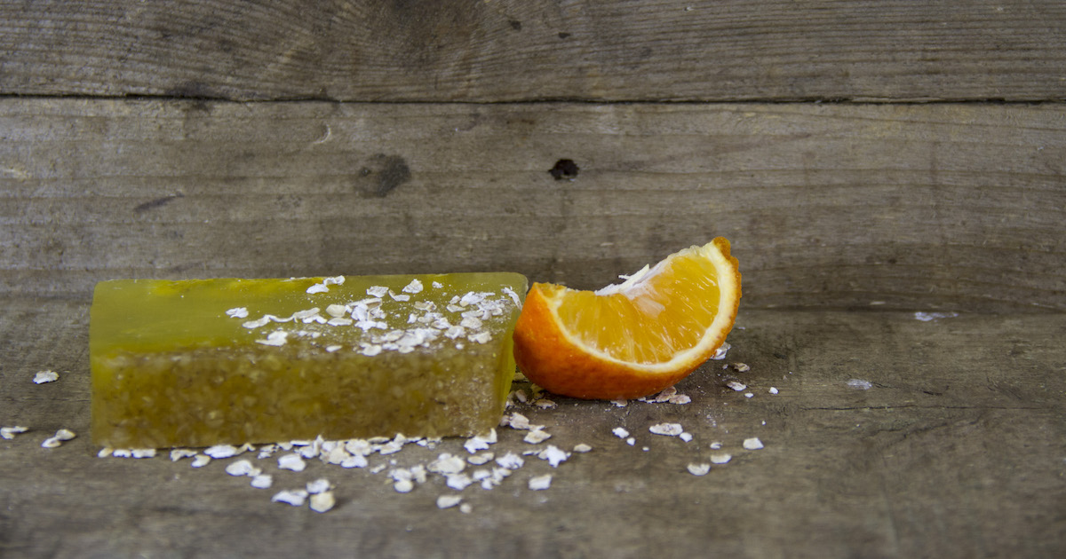 skye soap orange oatmeal