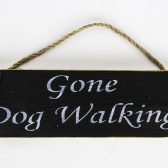 skye soap sign gone dog walking