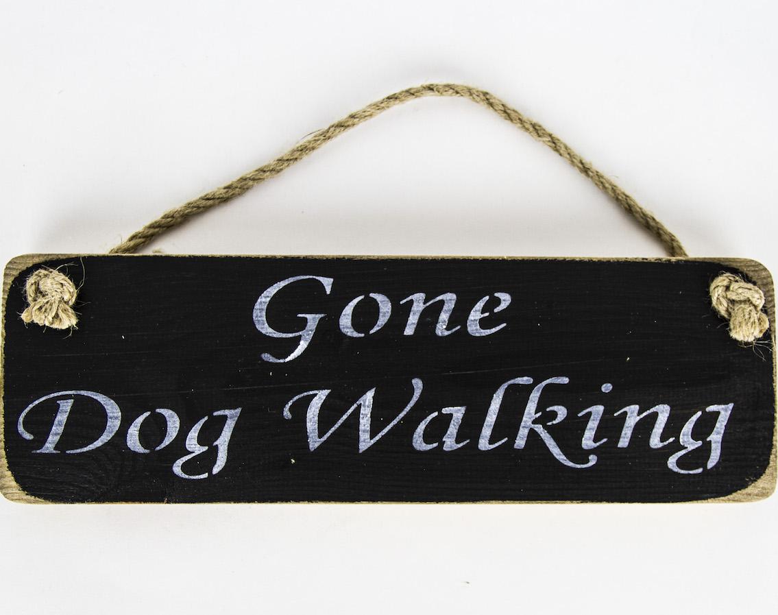 skye soap sign gone dog walking